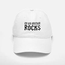My Big Brother Rocks Baseball Baseball Cap