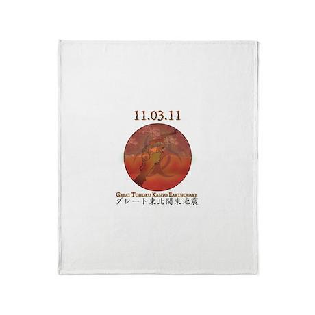 Great Tohoku Kanto Throw Blanket