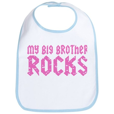 My Big Brother Rocks Bib