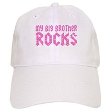 My Big Brother Rocks Baseball Cap