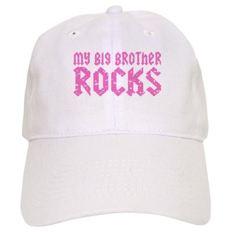 My Big Brother Rocks Cap