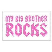 My Big Brother Rocks Decal