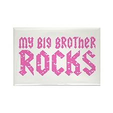My Big Brother Rocks Rectangle Magnet
