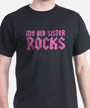 My Big Sister Rocks T-Shirt