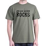 My Big Sister Rocks Dark T-Shirt