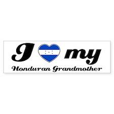 I love My honduran Grandmother Bumper Sticker