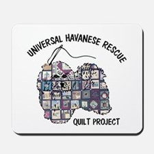 Quilt Dog Logo Mousepad