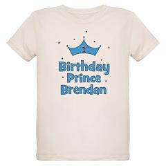 BRENDAN - 1st Birthday Prince T-Shirt