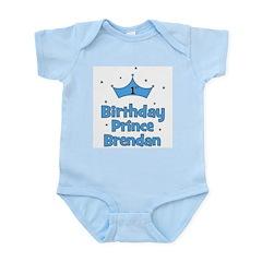 BRENDAN - 1st Birthday Prince Infant Bodysuit