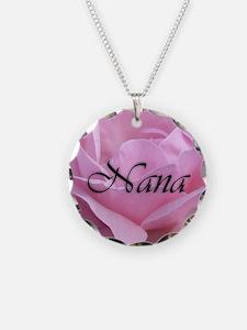 Nana Pink Rose Necklace