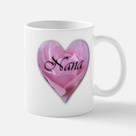 Nana Pink Rose Mug