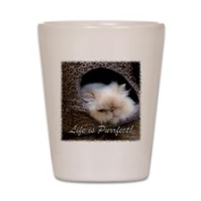 Life is Purrfect Shot Glass