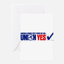 Union Yes Greeting Cards (Pk of 20)