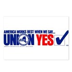 Union Yes Postcards (Package of 8)