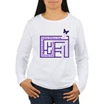 Fibro Fog Maze Women's Long Sleeve T-Shirt