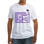Fibro Fog Maze Fitted T-Shirt