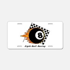 Eight Ball Racing Aluminum License Plate