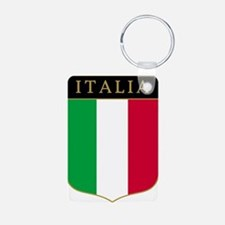 Italia Aluminum Photo Keychain