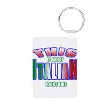 This is what Italian looks li Keychains