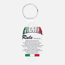 Italians Rules Keychains