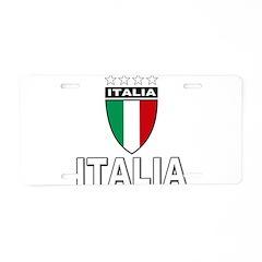 2010 World Cup Italia Aluminum License Plate