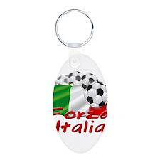 Italian Soccer Keychains