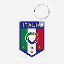 Italian Soccer emblem Keychains