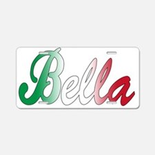 Italian girls Aluminum License Plate