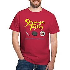 Strange Tastes Black T-Shirt