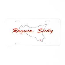 Ragusa Sicily Aluminum License Plate