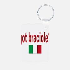 got braciole? Keychains