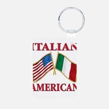 Italian american Pride Keychains