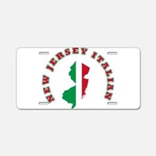 New Jersey Italian Aluminum License Plate