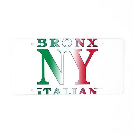 Bronx New york Italian Aluminum License Plate