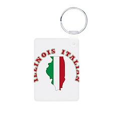 Illinois Italian Keychains