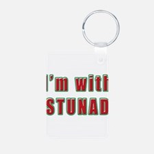 Italian I'm with Stunad Keychains