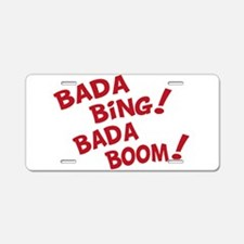 Bada Boom Aluminum License Plate