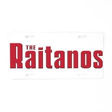 The Raitano Aluminum License Plate