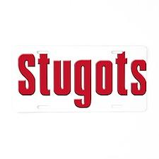 Stugots Aluminum License Plate