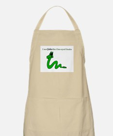 Jake the One Eyed Snake BBQ Apron