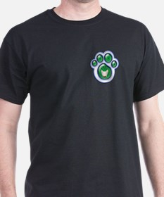 Jake Card Co - bryan bowden design Black T-Shirt