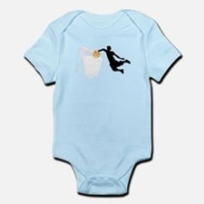 Cute Ball state cardinals Infant Bodysuit