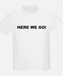 Here We Go Shelby Swamp Man T-Shirt
