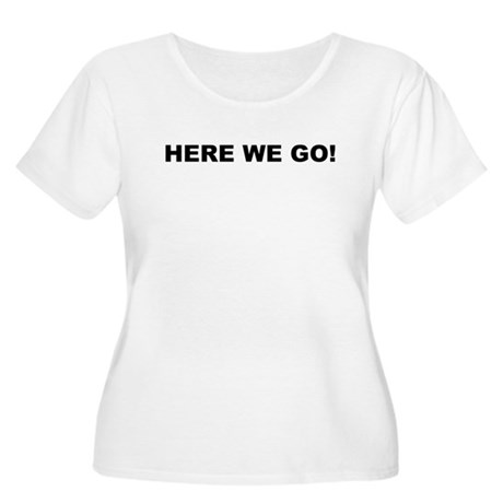 Here We Go Shelby Swamp Man Women's Plus Size Scoo