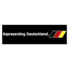 VW Representing Deutschland Bumper Bumper Sticker