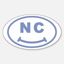NC Smile(TM) Sticker (Oval)