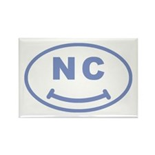 NC Smile(TM) Rectangle Magnet