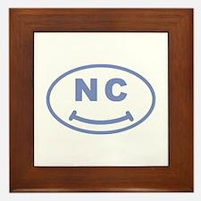 NC Smile(TM) Framed Tile