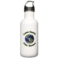 Love Earth Our Home ~ Water Bottle