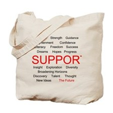 Support Education, Support the Future Tote Bag